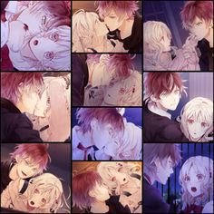 Ayato y yui 😍😍😍 Anime Love, Awesome Anime, All Anime, Anime Manga, Anime Guys, Anime Art, Diabolik Lovers Ayato, Ayato Sakamaki, Diabolik Lovers Wallpaper