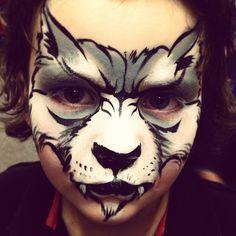 AmaDazzle Arts (Christina Kerr Davidson) || scary wolf (MUST TRY)