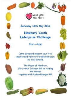 The Newbury Youth Enterprise Challenge was all part of #LYLM2013