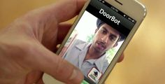 The DoorBot Allows People to Answer the Door Remotely #doorbells trendhunter.com