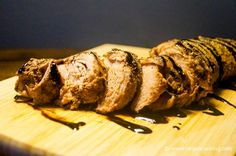Slow Cooker Balsamic Brown Sugar Pork Tenderloin for 243 calories and 5 Weight Watchers PointsPlus