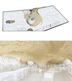 "Robert Stuart-Smith Design ltd., ""Helsinki Public Library."" london UNITED KINGDOM"