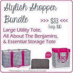 Thirty-One Gifts - The Stylish Shopper! #ThirtyOneGifts #ThirtyOne #JewellByThirtyOne #Monogramming #Organization #JanuarySpecial