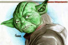 Yoda by Spomo Amazing Nature, Online Art Gallery, Amazing Photography, Cool Photos, Landscape, Artwork, Image, Photographs, Star Wars