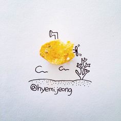 The adorable creations of CanadianillustratorHyemi Jeong, based in Toronto, who is having fun with the small everyday objects with cute and creative illustr