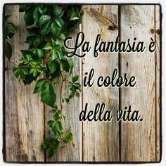 La fantasia è il colore della vita.