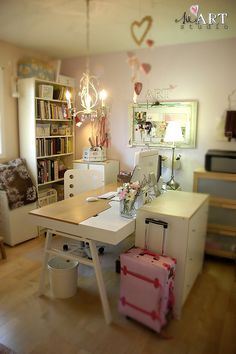 Wilna's craft studio