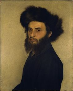 Isidor Kaufmann, Portrait of a Young Jewish Man