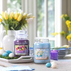 Yankee Candle Set Of 2 Jelly Beans Hy Spring Large Jars Order Online At Qvcuk