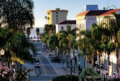 Downtown Ventura..have always enjoyed walking the downtown area and going in and out of the antique stores, hometown cafe's, coffee shops and historical museum's. This is my hometown.