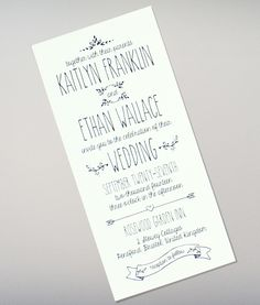 Sample reception card wording for your perfect wedding reception doodle love tall wedding invitation filmwisefo
