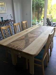 New Unique live edge Dining Table