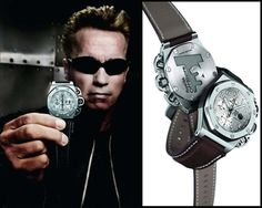 Audemars Piguet Royal Oak Offshore Terminator 3 Arnold Swartzenneger special Edition chronograph; 25863TI.OO.A080CU.01 48mm in titanium.