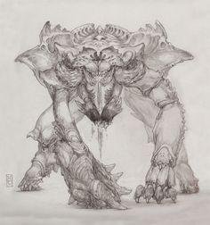 Keith Thompson Art Blog: Guillermo Del Toro