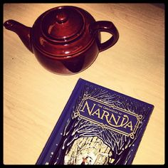"""""""You can never get a cup of #tea large enough or a #book long enough to suit me."""" - C.S. Lewis #books #reading #CSLewis #Narnia - @harpercollinsca- #webstagram"""