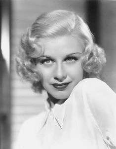 Ginger Rogers--early 1930s