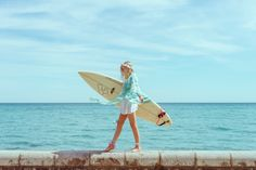 Surfs Up, Surfboard, Lilac, Creative, Summer, Model, Coconut, Instagram, Summer Time