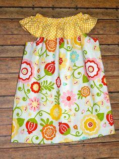 Ruffle Dres-Riley Blake Fabrics