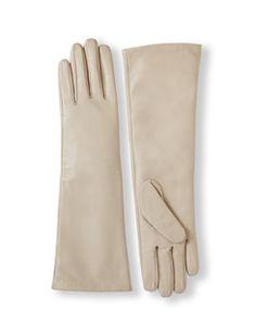 Leather Opera Gloves