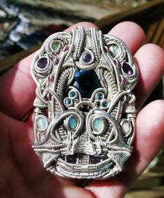 ©Sci Ence #wirewrap #jewelry #wirewrapjewelry