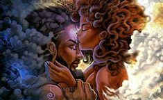 Heaven's Gate-Activation Framed Art Print by apillustr Art Black Love, Black Couple Art, Art Couple, Sexy Black Art, Black Girl Art, Art Girl, Black Love Quotes, African American Art, African Art