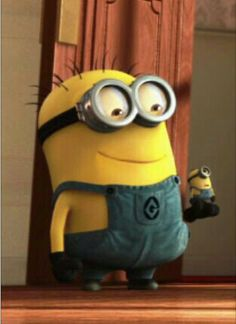 I LOVE minions!!They're so adorable!!
