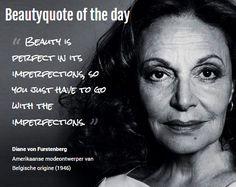 Beautyquote van Diane von Furstenberg op www.makeupmymind.nl