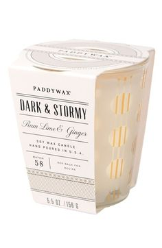 Paddywax 'Mixology' Candle - Yellow