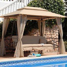 Suntime Luxor Swing Gazebo Bed