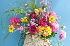 Make a Bouquet For Your Front Door #SouthernLadyMag