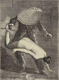 Max Ernst, Oedipus. 1925.