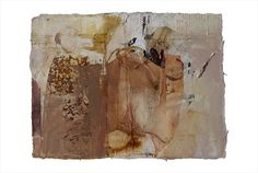 art journal - expression through abstraction — Fran Skiles, teaches at Quilt Surface Design...
