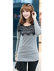 Women's Lace Splicing T-Shirt – CAD $ 9.61