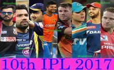 Vivo IPL 2017 Teams and Players