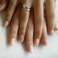 Nude nails french plus colour
