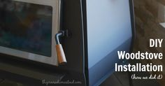 Our DIY woodstove install