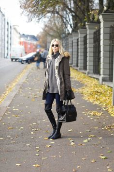 THE PERFECT PARKA COAT - STYLE PLAZA