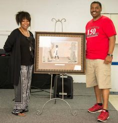 Juneteenth:Ruby Bridges and Sam Collins  Carol Warren Photography