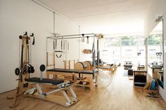 I would love to have all this pilates equipment at home :)