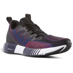 c52ec1f6feed39 Reebok Shoes Men s Fusion Flexweave® in Black Vital Blue Twisted Pink Size  10 - Running Shoes