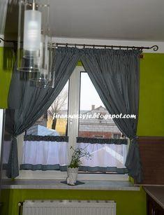 dekoracje okienne, kuchnia, firany kuchenne,zasłonki