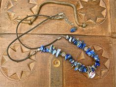 Inspire belief with this Sodalite necklace