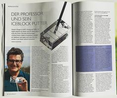 """In today's """"Golfsuisse"""" Journal that is delivered to every golfer in Switzerland a full article on my Iceblock Putter! I am so happy! Many thanks to Mr. Stefan Waldvogel for his excellent work! 🏌️I wish all golfers worldwide less putting strokes for lower scores. Try Iceblock Putter: bring the fun back to putting and you'll be smiling like me now ...⛳️ #golf #golfer #golfing #golfr #golfgti  #putter #putting #green #hole #score #pga #standrews #golfsuisse #sport #fun #score #game #matchplay…"""