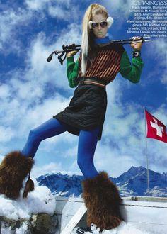 teen vogue ski editorial