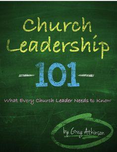 Church Leadership 101