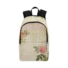 Doree Rose by PiccoGrande Fabric Backpack for Adult (Model makes a perfect gift for a romantic lady at all ages. Perfect with a black, sand or dark green pants and a white shirt. Get it online, easily with a few clicks. Pouch Bag, Pouches, Dark Green Pants, Tastefully Simple, Stitch Lines, Black Sand, Travel Accessories, Purses And Handbags, Fashion Backpack