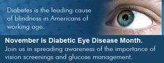Did you know that - November is National Diabetic Eye Disease Month Diabetic Eye Disease, Diabetic Retinopathy, Optometry, Did You Know, Diabetes, November, Management, Marketing, Eyes