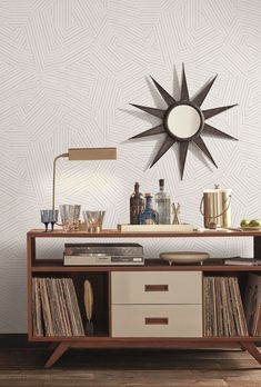 Modern Art Wallpaper Modern Art, Cabinet, Wallpaper, Storage, Furniture, Home Decor, Clothes Stand, Purse Storage, Decoration Home