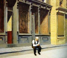 Edward Hopper Sunday | 1926. Oil on canvas. 73,7 x 86,3 cm. The Phillips Collection, Washington.