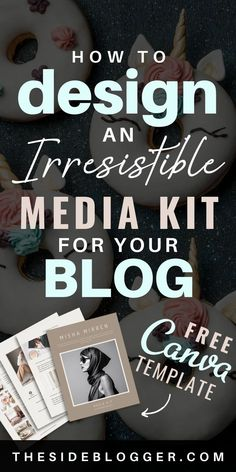 Make Money Blogging, How To Make Money, Media Kit Template, Graphic Design Tips, Blogger Tips, Blogging For Beginners, Making Ideas, How To Start A Blog, Social Media